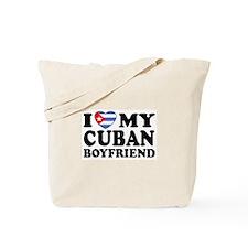 I Love My Cuban Boyfriend Tote Bag
