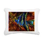 Angel Fish Rectangular Canvas Pillow