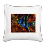 Angel Fish Square Canvas Pillow