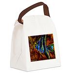 Angel Fish Canvas Lunch Bag