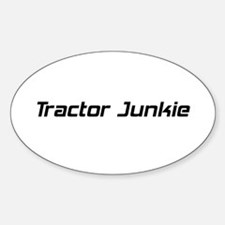 Tractor Junkie Decal