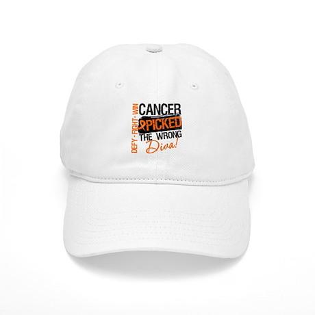Wrong Diva Leukemia Cancer Cap