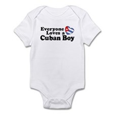 Everyone Loves a Cuban Boy Infant Creeper