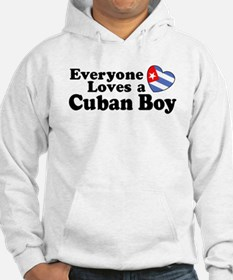 Everyone Loves a Cuban Boy Hoodie