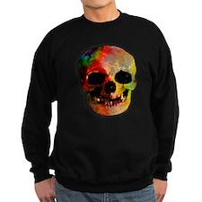 Tie dye skull Sweatshirt