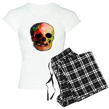 Tie dye skull Pajamas