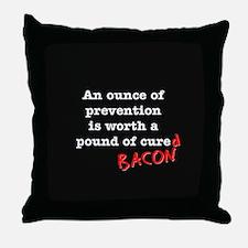 Pound of Bacon Throw Pillow