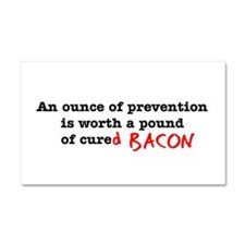 Pound of Bacon Car Magnet 20 x 12