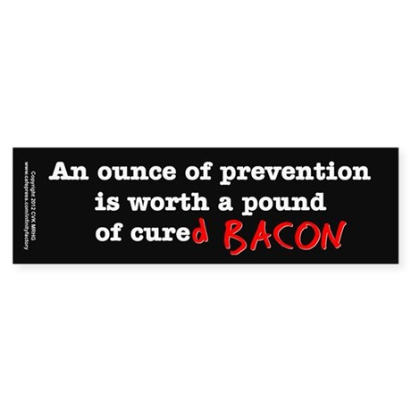 Pound of Bacon Sticker (Bumper)