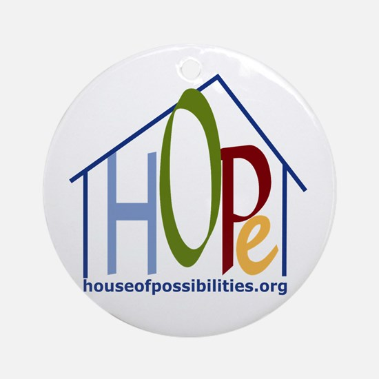 HOPe House Colors Ornament (Round)