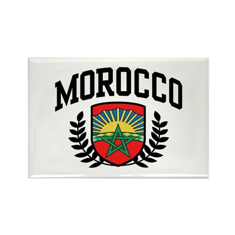 Morocco Rectangle Magnet