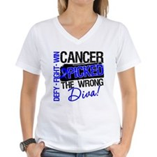 Colon Cancer Wrong Diva Shirt