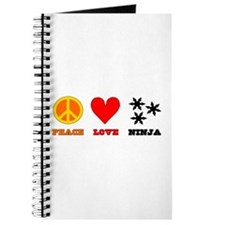 Peace Love Ninja Journal