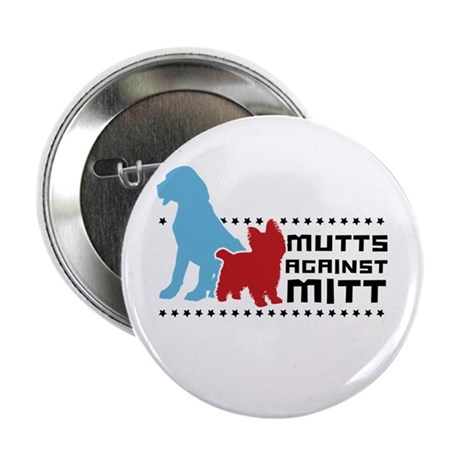 "Mutts Against Mitt 2.25"" Button"