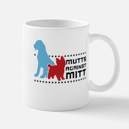 Mutts Against Mitt Mug