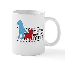 Mutts Against Mitt Small Mug