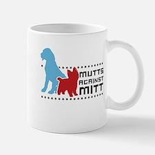 Mutts Against Mitt Small Small Mug