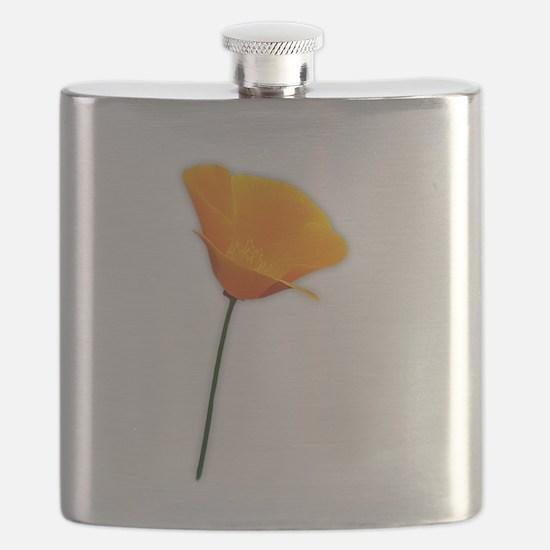 California Poppy Flask