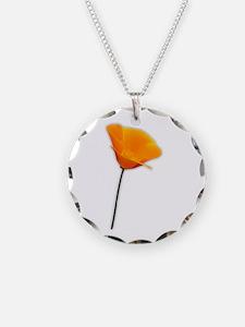 California Poppy Necklace