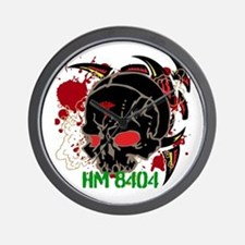 NVG Green and Red Devil Doc Wall Clock
