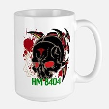 NVG Green and Red Devil Doc Large Mug