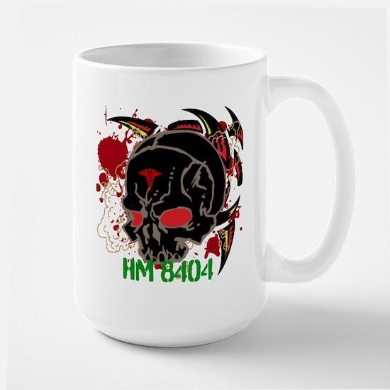 NVG Green and Red Devil Doc Large Mug