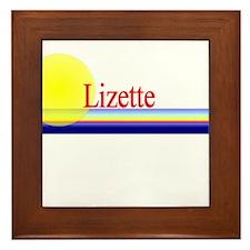 Lizette Framed Tile
