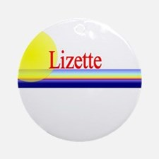 Lizette Ornament (Round)