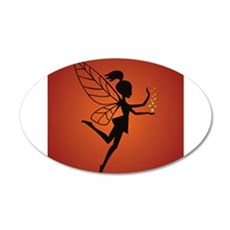 Fairy With Pixie dust Wall Decal