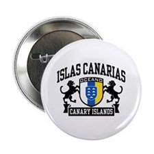 """Canary Islands 2.25"""" Button"""