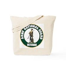 Army National Guard Veteran Tote Bag