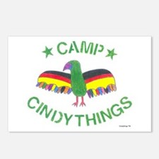 Camp Buzzard Logo Postcards (Package of 8)