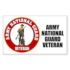 Army National Guard Veteran Decal