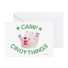 Camp Bear Logo Greeting Cards (Pk of 10)