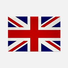 Union Jack/UK Flag Rectangle Magnet (10 pack)