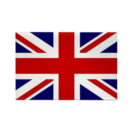 Union Jack/UK Flag Rectangle Magnet