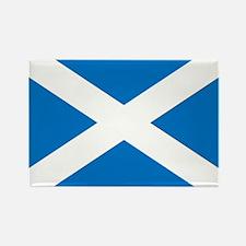 Scotland - St Andrews Cross - Rectangle Magnet