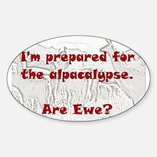 alpacalypse Sticker (Oval)