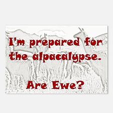 alpacalypse Postcards (Package of 8)