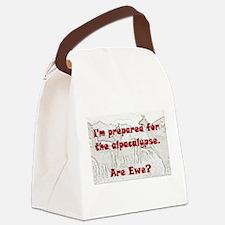 alpacalypse Canvas Lunch Bag