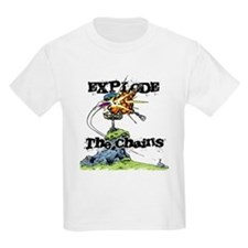Disc Golf EXPLODE THE CHAINS T-Shirt