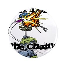 """Disc Golf EXPLODE THE CHAINS 3.5"""" Button"""