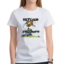 Disc Golf EXPLODE THE CHAINS Tee