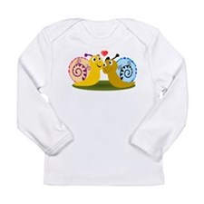 Lover Snail Long Sleeve Infant T-Shirt