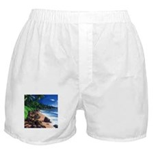 Beach Painting Boxer Shorts