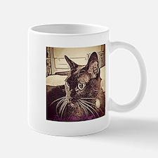 Burmese Cat Drawing Mug
