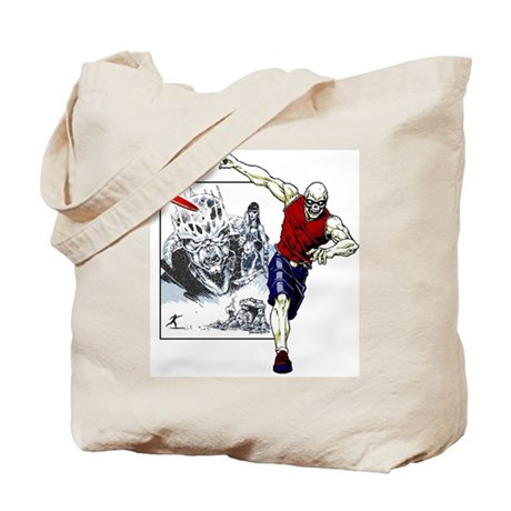Disc Golf TOMB OF TROUBLE Tote Bag