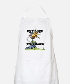 Disc Golf EXPLODE THE CHAINS Apron