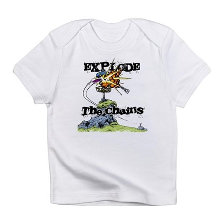 Disc Golf EXPLODE THE CHAINS Infant T-Shirt