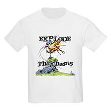 Disc Golf EXPLODE THE CHAINS T-Shirt